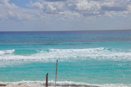 Beach in Cozumel, Mexico photo