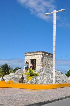 cozumel: Mayan Ruins in Cozumel, Mexico