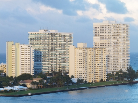 timeshare: Fort Lauderdale in Florida Stock Photo
