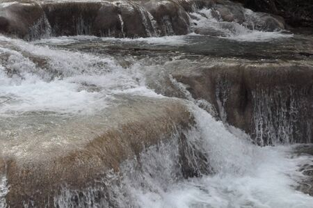 Dunns River Falls in Jamaica photo