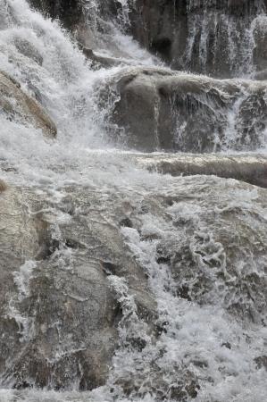 Dunns River Falls in Jamaica