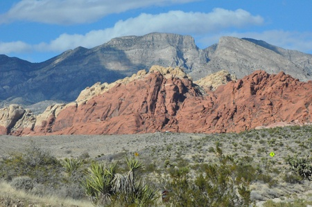 Red Rock Canyon in Las Vegas, Nevada photo