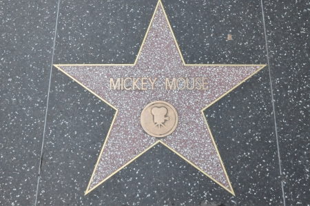 mickey: HOLLYWOOD - DECEMBER 7: Mickey Mouse Editorial