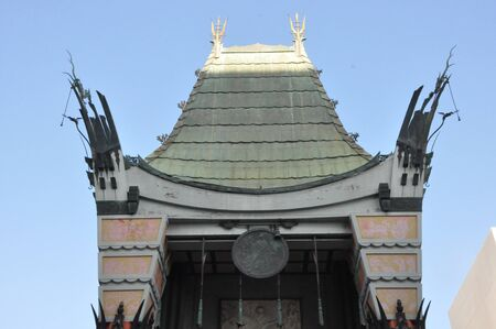 LOS ANGELES, CA - DEC 7: Historic Graumans Chinese Theater in Los Angeles, CA.