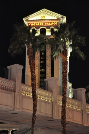 caesars palace: LAS VEGAS - DECEMBER 4: Caesars Palace hotel and casino on December 4, 2012 in Las Vegas. Caesars Palace opened in the 1960s and has a Roman Empire theme.
