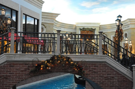LAS VEGAS - DECEMBER 2: The Venetian Resort Hotel Casino on December 2, 2012 in Las Vegas. It was opened in 1999 and has over 4,000 hotel rooms available for guests. Editorial