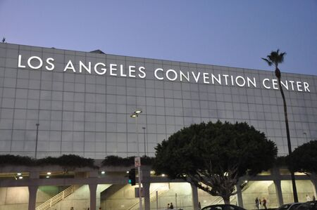 convention center: Los Angeles Convention Center in California Editorial