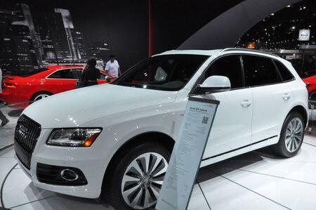 LOS ANGELES - DECEMBER 8: The Audi Q5 at the 2012 Los Angeles Auto Show as seen on December 8, 2012 in Los Angeles, California.