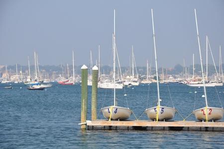 Harbor in Newport, Rhode Island