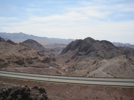 Highway in Nevada photo