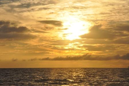 Sunset in Maui, Hawaii photo
