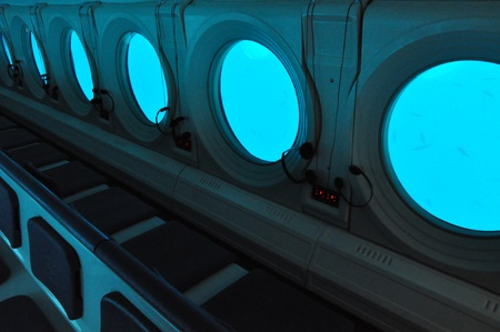 Interior of a Submarine photo