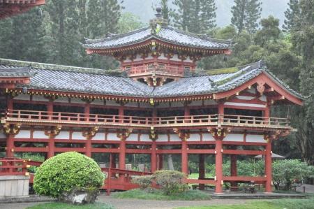 Byodo-In Temple in Oahu, Hawaii photo