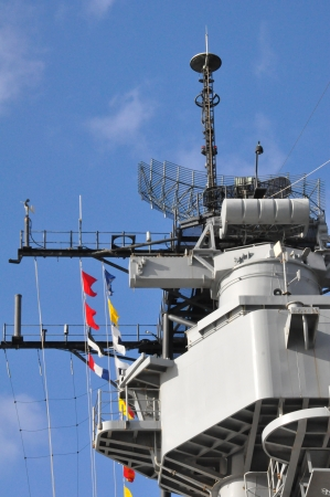 USS Missouri Battleship at Pearl Harbor in Hawaii photo