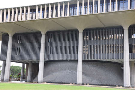 Hawaii State Capitol Building in Honolulu photo