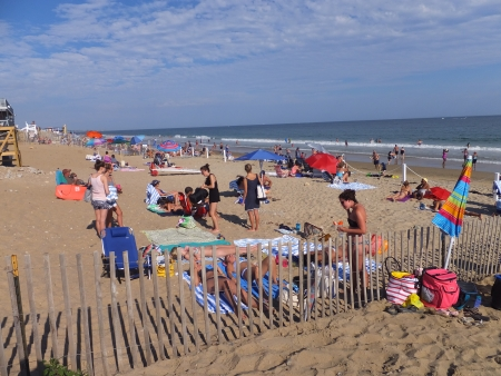 Misquamicut State Beach in Westerly, Rhode Island Publikacyjne