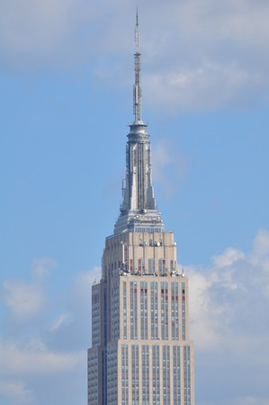 NEW YORK CITY - SEPTEMBER 8  Empire State Building with its surrounding, in New York City, as seen on September 8, 2013  The Empire State Building stood as the tallest in the world for 40 years  Sajtókép