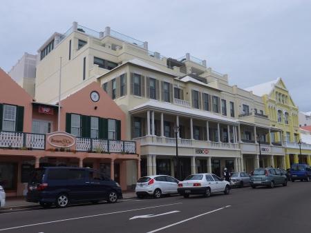 Downtown Hamilton in Bermuda Editorial