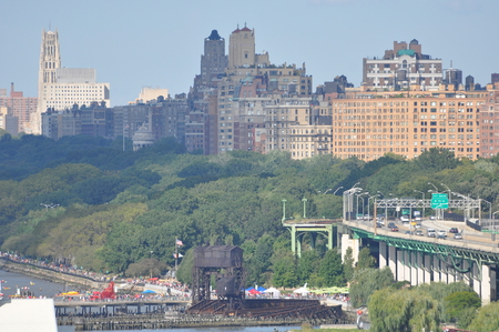 Henry Hudson autopista West Side en Manhattan photo