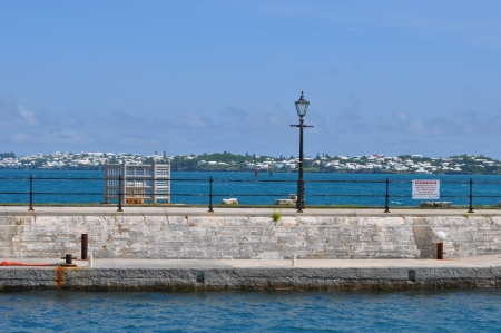 dockyard: The Royal Navy Dockyard in Bermuda Stock Photo