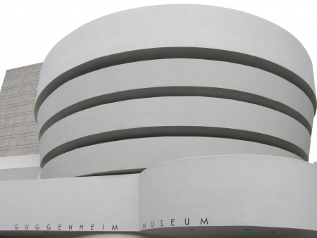 NEW YORK - JULY 11  The famous Solomon R  Guggenheim Museum of modern and contemporary art, as seen on July 11, 2009, in New York City, USA