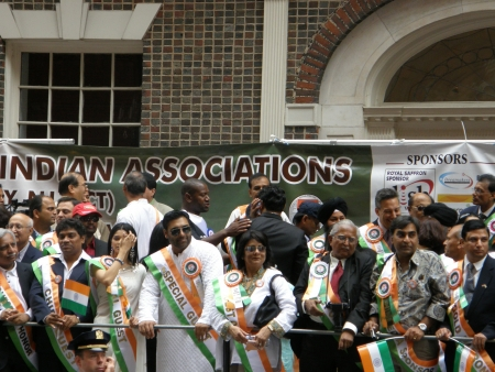 19's: NEW YORK - AUGUST 19  Indian TV and movie celebrities at the India s 60th Independence Day in New York, as seen on August 19, 2007  Johnny Lever, Ram Kapoor and Prachi Desai were present  Editorial