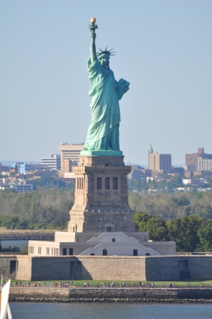 statue: Statue of Liberty in New York Stock Photo