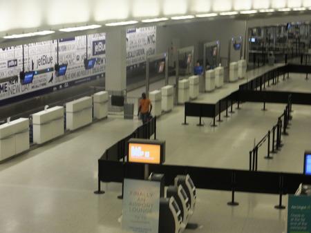 jetblue: Jetblue Terminal all'aeroporto JFK di New York