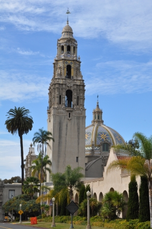 national historic site: San Diego Museum of Man in Balboa Park in San Diego, California Editorial