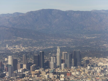View of Los Angeles, California photo