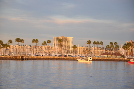 Long Beach in California