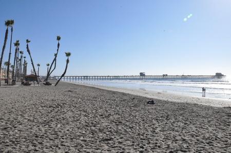 Oceanside in California Stok Fotoğraf