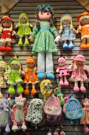 Handicrafts at Old Town in San Diego, California photo