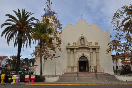 immaculate: Immaculate Conception Catholic Church in Old Town San Diego, California