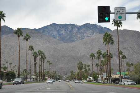 Palm Desert in California photo