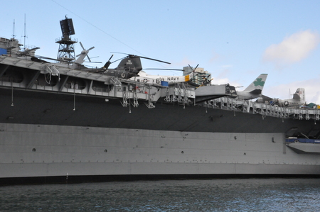 midway: USS Midway in San Diego, California