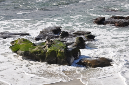 WindanSea Beach at La Jolla in San Diego, California photo