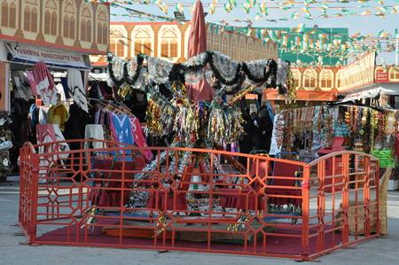 India pavilion at Global Village in Dubai, UAE
