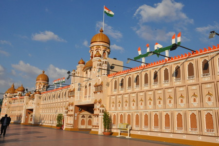 India pavilion at Global Village in Dubai, UAE photo