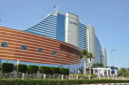 Jumeirah Beach Hotel en Dubai, Emiratos �rabes Unidos photo