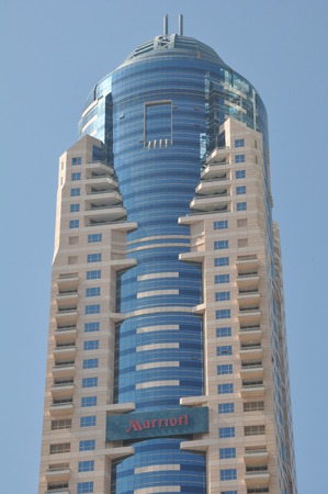 tallest: Skyscrapers on Sheikh Zayed Road in Dubai, UAE
