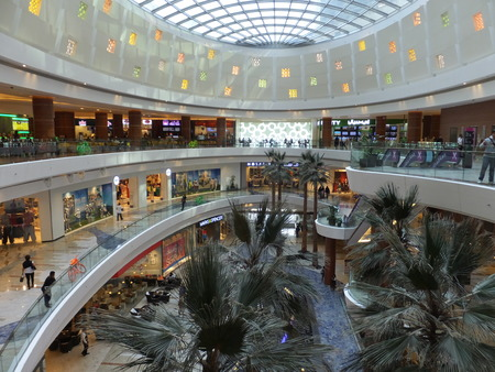 Al Ghurair Center Shopping Mall in Dubai, UAE\