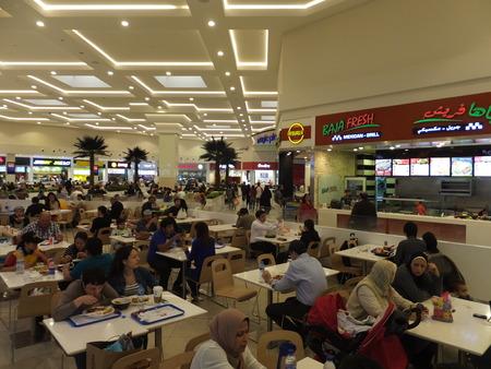 Food Court at Deira City Centre in Dubai, UAE