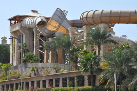 Wild Wadi Water Park in Dubai, UAE