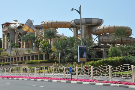 Wild Wadi Water Park in Dubai, UAE