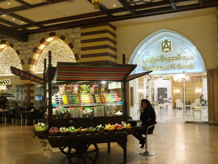 gold souk: The Souk at Dubai Mall in Dubai, UAE