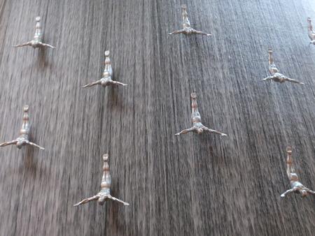 Waterfall at Dubai Mall in Dubai, UAE