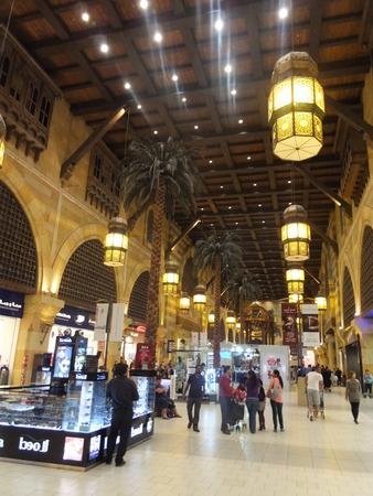ibn: Andalusia Court at Ibn Battuta Mall in Dubai, UAE