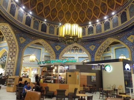 ibn: Persia Court at Ibn Battuta Mall in Dubai, UAE