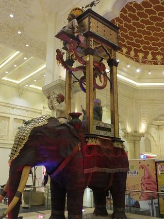 ibn: India Court at Ibn Battuta Mall in Dubai, UAE